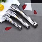 Stainless Steel BBQ Salad Ice Tong Food Cooking Kitchen Serving Gadget Tool Chic