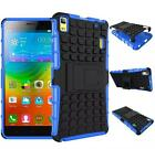 Shock Hybrid Case With Stand Cover Case For Lenovo K3 NOTE A7000 (4colors)