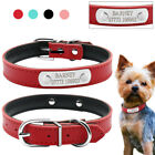 Didog Leather Personalized Pet Dog Collars Custom Cat Name Plate ID Tags XS S M