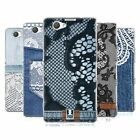 HEAD CASE DESIGNS JEANS AND LACES SOFT GEL CASE FOR SONY XPERIA Z1 COMPACT