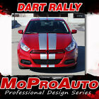 2013-2016 Dodge Dart SXT SE GT DART RALLY Racing Decals 3M Pro Stripes PD2679 $187.38 USD on eBay
