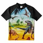 NEW Short Sleeve Dinosaur Rash Vest Kids