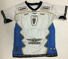 Tour Code 1 Roller Hockey Padded Shirt Youth All Sizes White / Blue - HIS