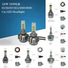Newly 120W 12000LM 9004~9007/H1~H13 LED Headlight Beam Light Bulbs High Power V8