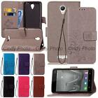 For Xiaomi Hongmi Redmi Note 2 Note2 Prime 3D Emboss PU Leather Stand Case Cover