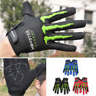 Full Finger Light Cycling Gloves with Shock-absorbing Pad Elastic and Protective