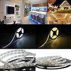 1M-20M 5M 10M 3528 SMD 300 LED 12V LED Strip Light Waterproof Flexible Adapter