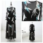 Phoenix Embroidery STOCK Sexy Prom Evening dress Ball Gown 2 4 6 8 10 12 14 16