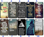 Lift Quote Inspirational Soft TPU Case Cover For iphone 6 6S 5S 7 8 Plus X