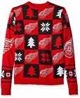 Forever Collectibles NHL Men's Detroit Red Wings Patches Ugly Sweater