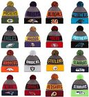 NEW ERA 2016-17 SPORT KNIT NFL Onfield Sideline Beanie Winter Pom Knit Cap Hat  segunda mano  Haines City