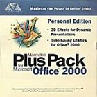 Microsoft PLUS PACK 2000 Utilities NEW PC CD-ROM