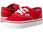 Toddler Vans Authentic Canvas VN-0ED9RED Red White 100% Authentic Brand New $26.91 USD