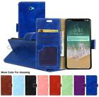"""For Sony Xperia Z2A ZL2 D6563 5.0"""" Crazy Horse Cover Case Flip PU Leather Stand"""