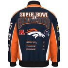 NFL Men's Denver Broncos 3 Time Super Bowl Champion Cotton / Twill Jacket on eBay