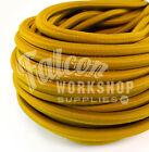 10mm ELASTIC BUNGEE ROPE SHOCK CORD TIE DOWN MUSTARD YELLOW ROOF RACKS TRAILERS
