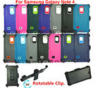 samsung galaxy 4 cover - For Samsung Galaxy Note 4 Case Cover (Belt Clip Fits OtterBox Defender Series)