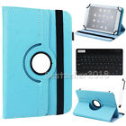 US For Samsung Galaxy Tab A/E/4/3/2 Bluetooth Keyboard +Leather Stand Case Cover