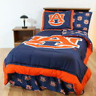 Auburn Tigers Bed in a Bag Comforter Set Twin or Full Size