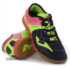 Scarpe calcetto Joma - Evos 603 Navy / Pink / Green Fluor Indoor