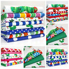 THE HUNGRY CATERPILLAR COTTON FABRIC FQ BUNDLES far quarter  I LOVE YOU - NEW IN