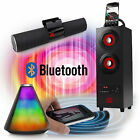 SUMVISION Portable Bluetooth Wireless speakers For iPhone iPad Samsung Sony LG