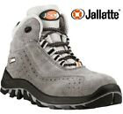 MENS JALLATTE WOMENS LEATHER SAFETY COMPOSITE TOE CAP LADIES WORK BOOTS TRAINER