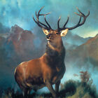 Edwin Landseer MONARCH OF THE GLEN wildlife print, PREMIUM QUALITY, choose size