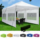 10 x 20 EZ Pop Up Canopy Tent Patio Shade Shelter Outdoor Wedding Party Sidewall