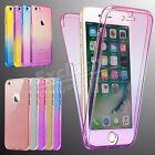 Ultra Thin Slim Fit 360° TPU Gel Skin Case Cover for Apple iPhone 7 6 Plus 5 SE
