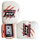 KIDS WHITE 'DUO GEAR 'THAI-GER' BOXING SPARRING AND PADWORK MUAY THAI GLOVES