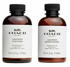 NEW Coach Handbag Fabric Cleaner Leather Cleaner Leather Moisturizer