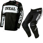 Oneal Ultra Lite LE 75 2017 Motocross Jersey & Pants Black White Kit GhostBikes