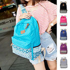 Women Men Backpack For School Teens Vintage Rucksack Shoulder Bags Book Bags New