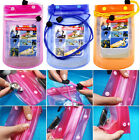 3 Colors Waterproof Underwater Pouch Dry Bag Pack Case Cover For Cell Phone PDA