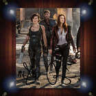 Resident Evil Last Chapter Milla Ali Signed Autographe Framed Photo/Canvas Print