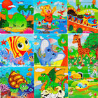 Wooden Kids 16 Piece Jigsaw Toys Education And Learning Puzzles Toys For Child