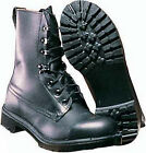 Army Assault Boots British Army Surplus Black Leather Military Combat boots SG