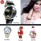 Fashion Women's Business Simple Hollow Thin Watch Cute Schoolgirl Gift 4 Colors