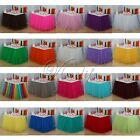 5 x  Tulle Tutu Table Skirt for Wedding Party Baby shower Decorations 22 Color