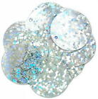 The Craft Factory CF01/0100[1-2] | Hologram Round Sparkle Sequins 20mm approx 7g