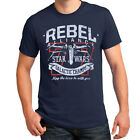 Star Wars Rebel Alliance Galactic Champs X-Wing Navy Blue Adult T-Shirt