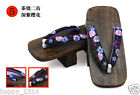 Women's Fashion casual cool sandals high heels Japanese clogs size 23 24 25cm
