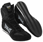 Everlast Hurricane High Top Pro Competition Boxing Shoes (Black)