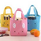 Portable Insulated Thermal Picnic Lunch Box Carry Tote Storage Bag cute