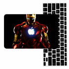 Iron Man Painted Rubberized Hard Case Cover For New Macbook Pro Air 11 12 13 15