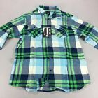 Insight Blunt Time Casual Checkered Shirt New - Size: L - Smog Blue