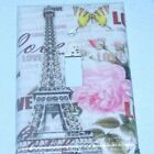 Paris Eiffle Tower LIGHT SWITCH OR OUTLET COVERS HANDMADE Roses Butterflies