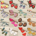 1/3Pcs 36 Sizes Embroidered Patches Sewing Iron Cloth Fabric DIY Craft Décor