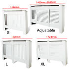 Painted Heating Radiator Cover Cabinet MDF Wood S/L/XL Adjustable Sizes